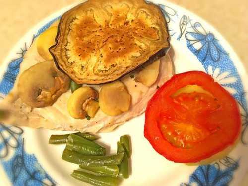 мясо, запеченное с картофелем